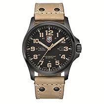 Luminox Herren-Armbanduhr XL Analog Quarz Leder 1925