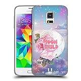 Head Case Designs Mondkind Pastellgote Ruckseite Hülle für Samsung Galaxy S5 Mini