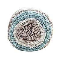 BoburyL 100g/Ball Colorful 5 ply Rainbow Cotton Yarn Handmade DIY Scarf Pillow Blanket Knitting Crochet Soft Milk Cotton Yarn