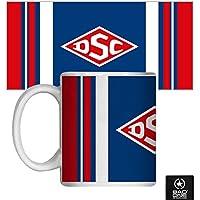 """DSC """"Basic"""" Keramiktasse, Weiß"""