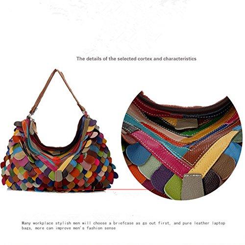 Eysee, Poschette giorno donna Multicolore Multicolore 44cm*28cm*10cm Multicolore