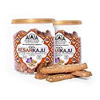 Almond Castle Kesar kaju Biscuits Premium Pack – 200g