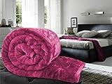 Single Bed Pink Mink Blanket Of Standard...