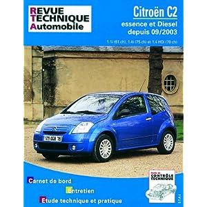 Revue Technique 684.1 Citroën C2 Essence et Diesel Depuis 09/03