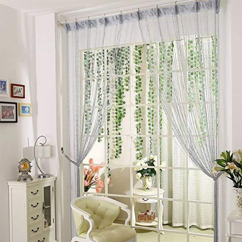 Cortina Panel, 100 x 200 cm Purpurina cortinas para salon cuerdas para