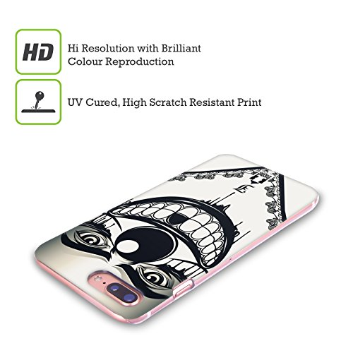 Head Case Designs Paisley Bandana Cover Retro Rigida per Apple iPhone X Clown Malefico