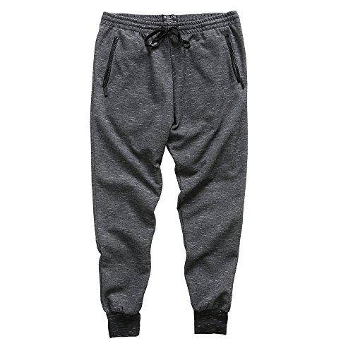 Brave Soul Herren Modern Hose X-Large Gr. M, Charcoal/Ecru (Khaki Baby Boys-cargo-shorts)
