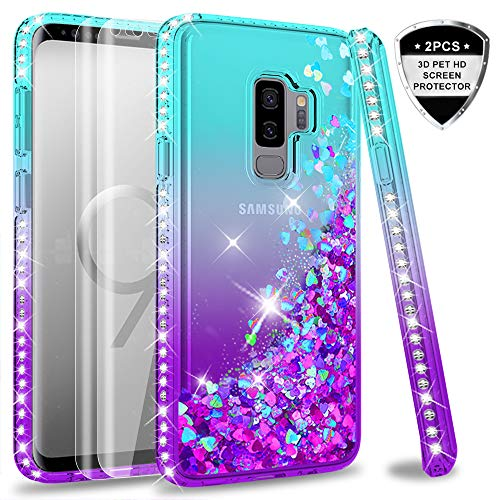 LeYi Compatible with Funda Samsung Galaxy S9 Plus