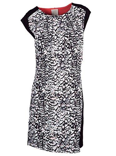 10 FEET Damen Kleid mini kurz - Viskose - schwarz black S