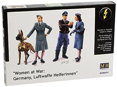 MasterBox MB3557 - 1/35 Frauen im Krieg, Luftwaffe Helferinnen von MasterBox