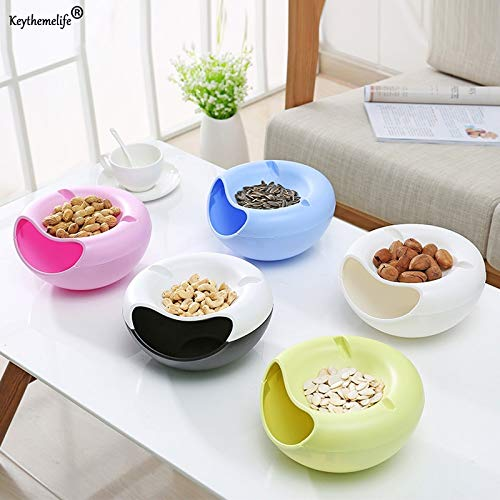 Storage Boxes & Bins - Creative Melon Seeds Nut Bowl Table Candy Snacks Dry Fruit Storage Box Plate Dish Tray Mobile Phone - Fruit Storage Storage Boxes Bins Spoon Hello Kitty Nano Hold Bowl Fr