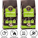 Grill Republic® Coco Brixx Grill-Briketts | Cocos-Kohle für Dutch Oven, Smoker und Grill | Nachhaltig, Hoher Heizwert und 3x längere Brenndauer | 2x8,5kg