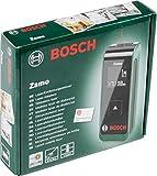 Bosch Laser Entfernungsmesser Zamo (2 Generation, 2x AAA Batterien, Verpackungsbox, Arbeitsbereich 0,15 - 20 m, +/-3 mm Messgenauigkeit)