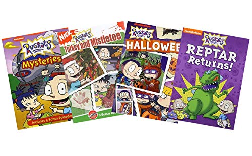 Ultimate Nick Jr. Rugrats 4-Movie DVD Collection: Mysteries / Turkey and Mistletoe / Halloween / Reptar Returns [Nickelodeon Educational Learning]