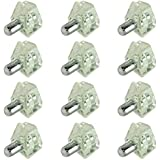 12pc Steel Shelf Support Peg Clip Set - 3/16 Silver by ProTool
