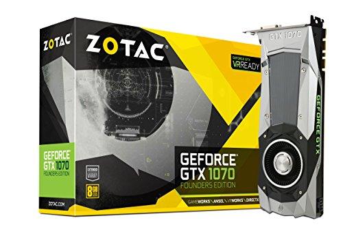 Preisvergleich Produktbild ZOTAC GeForce GTX 1070 Founders Edition 8GB GDDR5