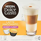 NESCAFÉ Dolce Gusto Skinny Latte Machiato, Pack of 3 (Total 48 Capsules, 24 Servings)