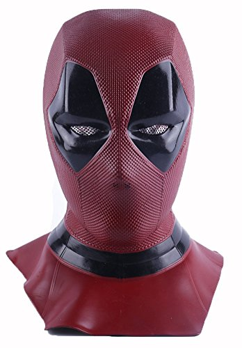 K-Y YK Film Deadpool Toten Perücken Maske Cosplay Halloween COS Helm tot Cosplay Maske Requisiten Kopfmaske ()