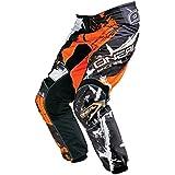 O'Neal Element MX Hose SHOCKER Schwarz Orange Motocross Enduro Offroad, 0124-5