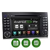 XOMAX XM-D10ZA Autoradio con Android 9 adatto per Mercedes A/B W169 I 4Core, 2GB RAM, 32GB ROM I Navigatore GPS I Supporto WIFI, 4G, DAB, OBD2 I Bluetooth I Touch Screen 7'' I DVD, CD, USB, SD, RDS