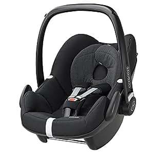Maxi-Cosi Pebble Black Raven - baby car seats (0+ (0-13 kg; 0-15 months), ISOFIX, Black)