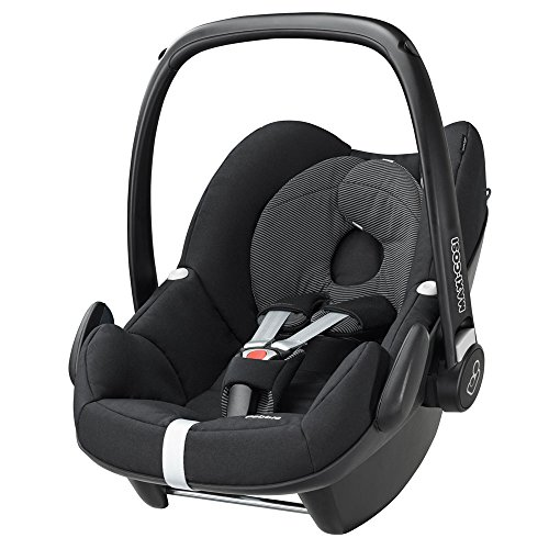 Maxi-Cosi Pebble Black Raven - baby car seats (0+ (0-13 kg; 0-15 months), ISOFIX, Black)