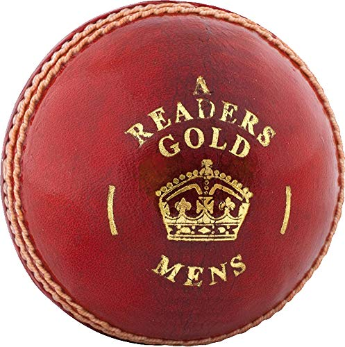 Readers Cricket Gold A Ball Herren Jugend, Mehrfarbig, Herren