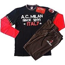 Pijama Chándal para hombre AC Milan Ropa Equipos de fútbol * 10318