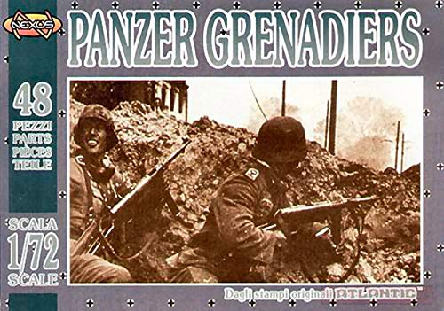 NEW Atlantic ATL019 Panzer Grenadiers KIT 1:72 MODELLINO Model
