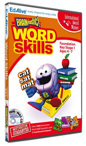 BRAINtastic! Word Skills KS1 (PC CD) Test