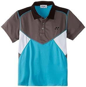 Yonex 443B 25 T-Shirt, Boy's Large (Scuba Blue)
