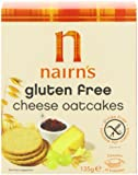 Nairns Gluten Free Cheese Oatcakes 135 g (Pack of 12)
