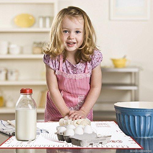 Tappetini da forno in silicone spianatoia grande tappetino - Tappetini da cucina ...