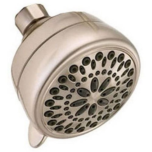 Delta 75760SN Universal Showering Components 7 Setting Showerhead, Brushed Nickel by DELTA FAUCET