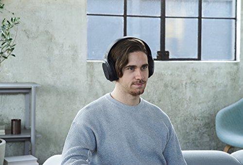 Sony MDR-RF895RK kabellose Kopfhörer (bis zu 100 Meter Reichweite, Geräuschminimierungssystem, 40-mm-Treiber, automatische Frequenzsuche, bis zu 20 Stunden Akkulaufzeit) Schwarz - 13