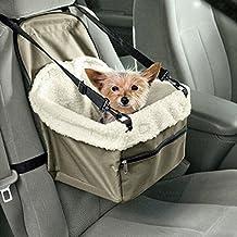 Auto Hundetasche Transportbox für Hund Katze Transporttasche für Haustiere Armee Grün