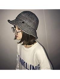 Yukun Cappello a maglia da donna Cappello da Pescatore in Maglia da Donna  in Cotone Lavorato dd335d226881