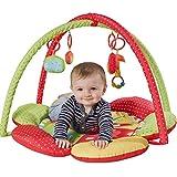Red Kite Safari - Manta de juegos y gimnasio de actividades, 2 en 1, con forma de pétalos y apta para recién nacidos