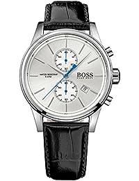 Reloj con mecanismo de cuarzo para hombre Hugo Boss 1513282, cronógrafo y correa de piel.