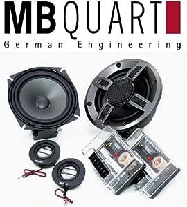 Mb Quart Dsh 213 180 Watt 2 Way Komponenten 13 34 Cm 13 Cm Für Das Auto Elektronik
