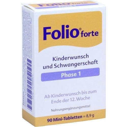 Folio 1 forte, 90 St. Tabletten - Tablette