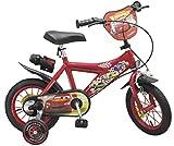 """Toimsa- Vélo 12"""" modèle Cars 3-5ans, 732, Rouge..."""