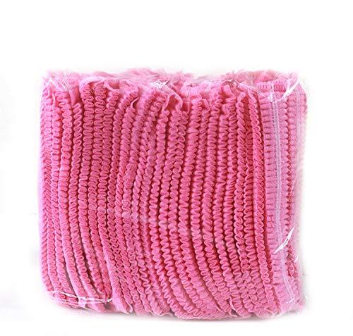 Einweg Gap, Mob Kappen, Haarnetz Gap, 100Stück, elastisch frei Größe, für Kosmetik, Beauty, Küche, Kochen, Home Industries, Krankenhaus (Einweg-haarnetz)