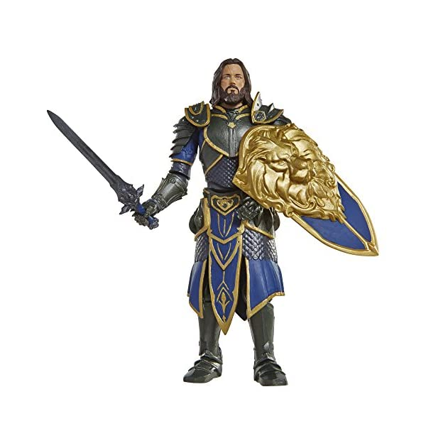 Warcraft 6 Lothar action Figure With Accessory by Warcraft 1