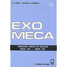 Exo-méca : Premières années de facultés, math sup, math spé (Nabla)