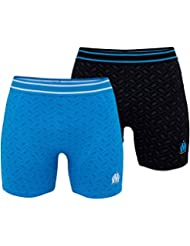 Lot de 2 boxers OM - Collection officielle Olympique de MARSEILLE - Taille adulte homme
