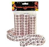 bb10 Schmuck 60 Geburtstag Deko 27 Stück Luftschlangen Papierschlangen mit Zahl 60 Dekoration zum 60er Geburtstag Party oder andere Anlässe