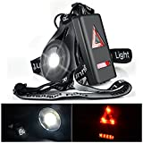 USB Wiederaufladbare Lauflicht LED Running Light, Myguru Sportlampe Brust Lampe 3 Modi Beleuchtung 250 LM Für Outdoor Sport Joggen Laufen Angeln Klettern