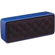 AmazonBasics - Altavoz portátil Bluetooth, color azul
