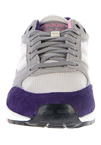 adidas - Tech Super, Sneakers da Donna Grigio/rosa
